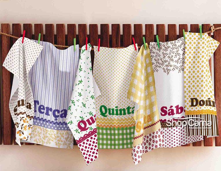 7 Presentes que cabem no seu bolso pano de prato shopcama