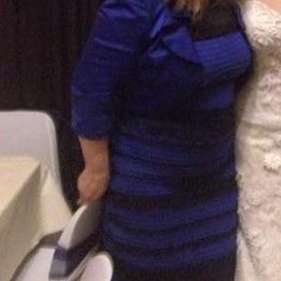 vestido dourado e branco azul e preto 2