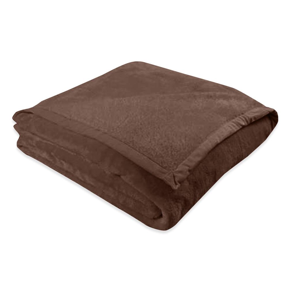 cobertor europa toque de luxo marrom