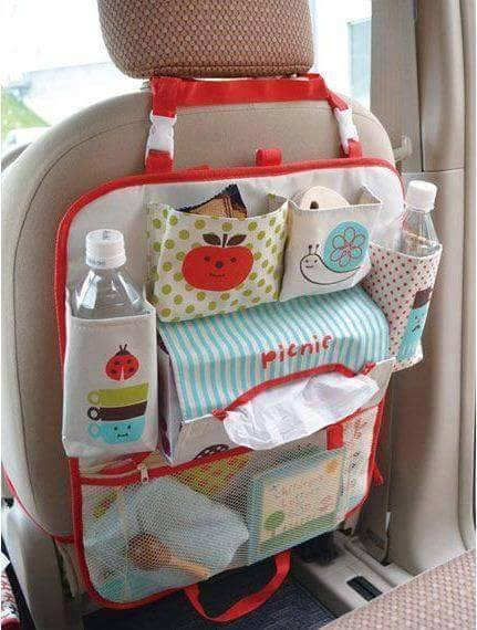 Bebê: Organizador para carro