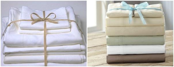 como organizar roupa de cama bau