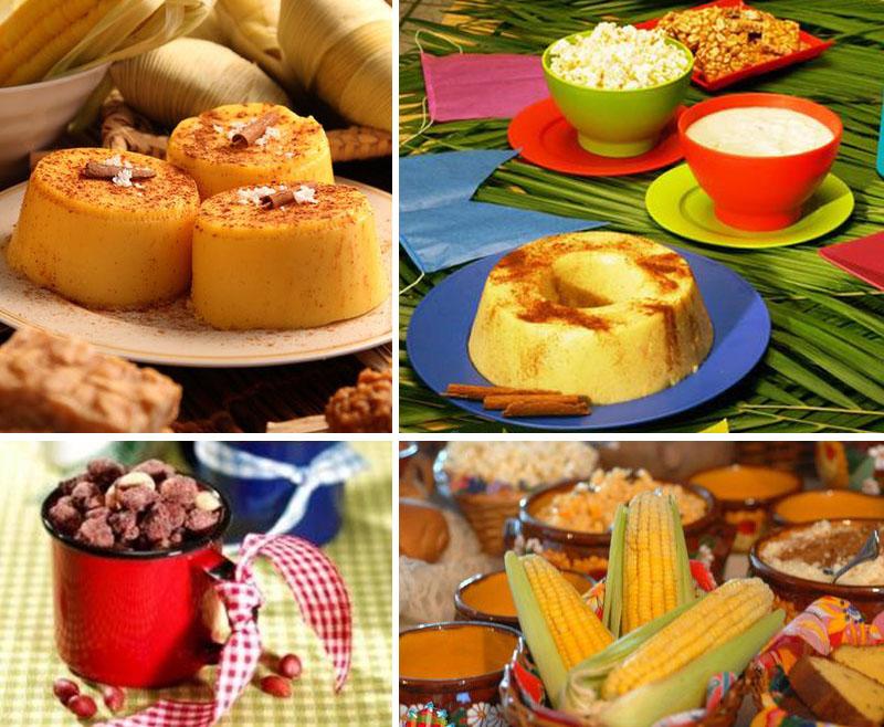 comidas tipicas de festa junina
