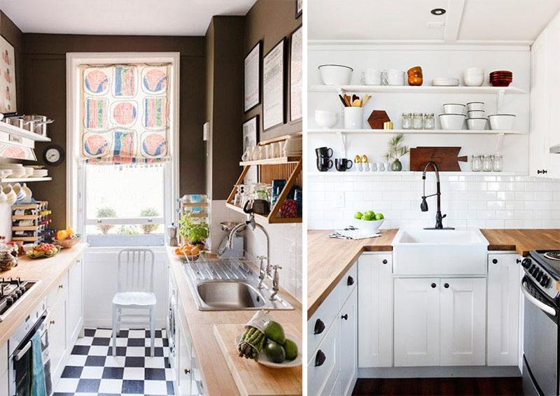 cozinhas pequenas como otimizar espaco