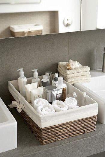 como organizar toalha de banho