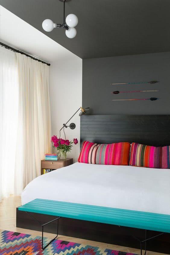 dicas para quartos coloridos