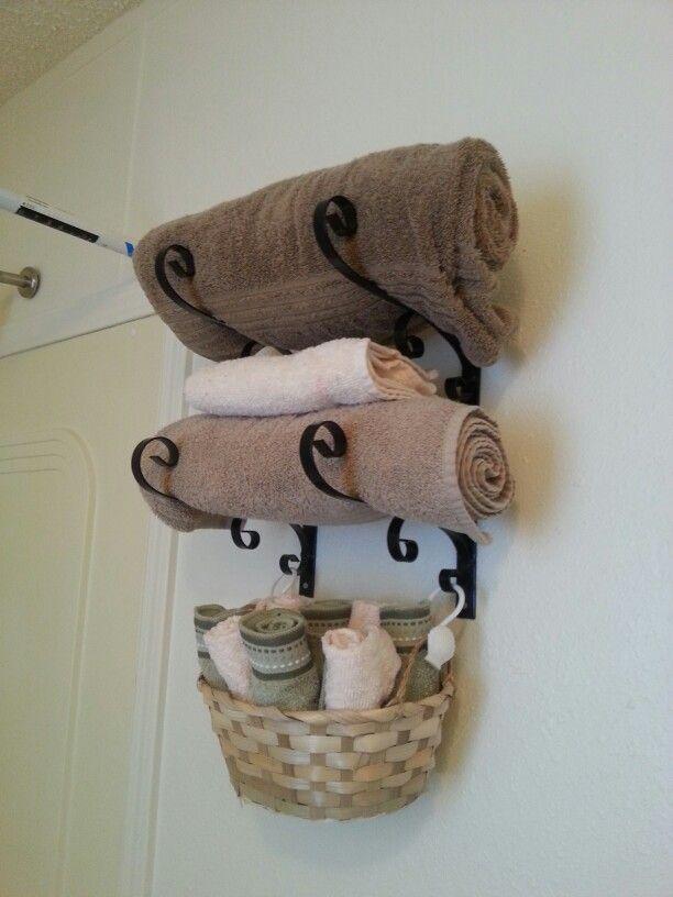 prateleiras para toalha de banho