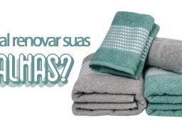 Linha Sofisticata: Conheça os Kit's de toalhas da Atlântica!