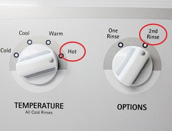 Como tirar manchas do travesseiro 2enxague aguas quente