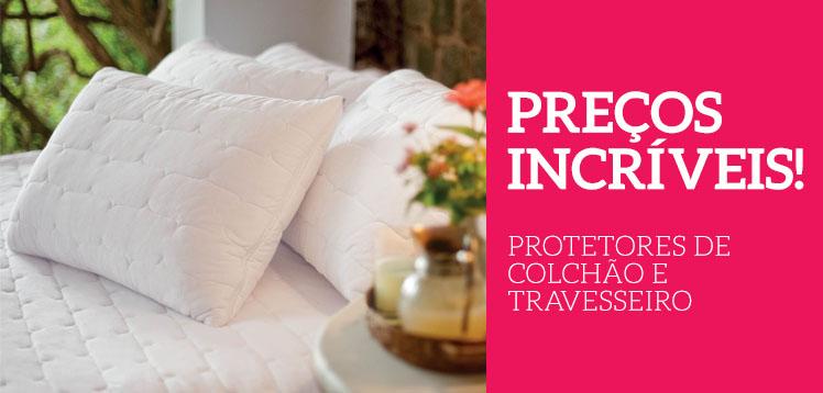 protetor de colchao protetor de travesseiro oferta