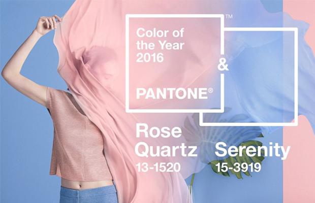 cor do ano pantone 2016 quartzo rosa azul