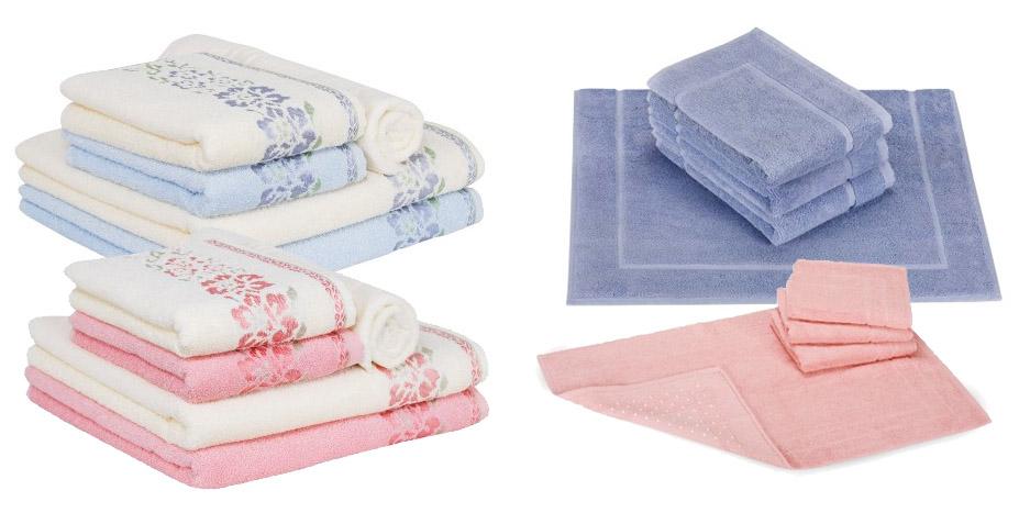 toalha de banho cor pantone rosa quartzo