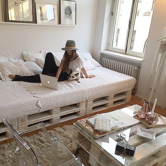 dicas para quarto pequeno cama gavetas