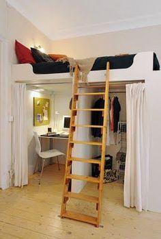 dicas para quarto pequeno cama
