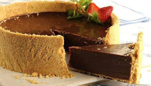 Deliciosa torta gelada de chocolate!