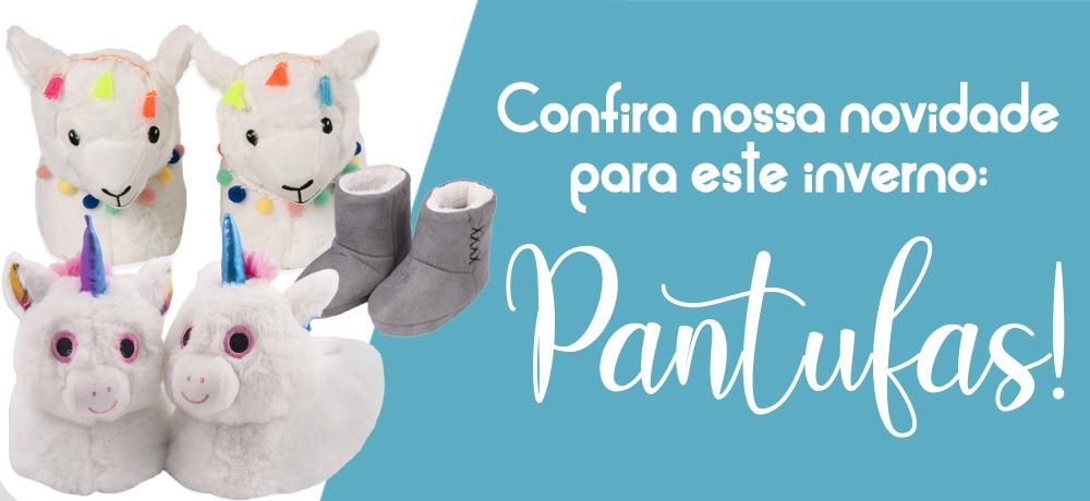 Pantufas Europa: Novidade no Shopcama!