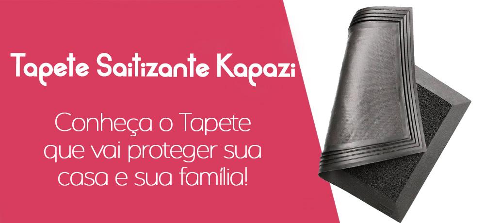 Proteja sua casa com o Tapete Sanitizante Kapazi!